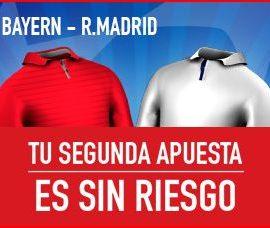 Bayer-Real Madrid-Segunda apuesta sin riesgo