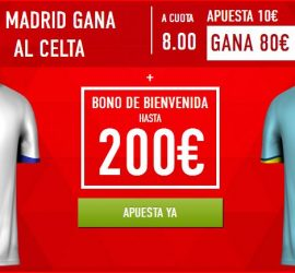 supercuota celta vs madrid